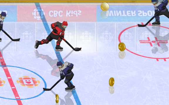Play CBC Hockey Hero